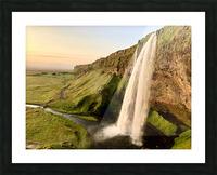 Seljalandsfoss Picture Frame print