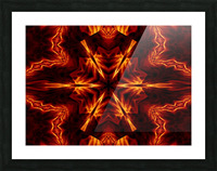 Eternal Flame Flowers 1 Picture Frame print