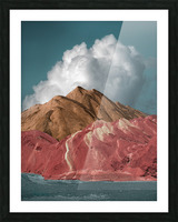 Colorful Danxia Picture Frame print