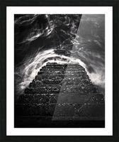 Descend and Ascend Picture Frame print