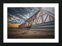 Pont de fer Haldimand Picture Frame print