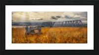 Pont de fer plage Haldimand Impression et Cadre photo