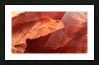 Eroded Wall of Antelope Canyon  Picture Frame print