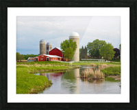 Country Farm Picture Frame print