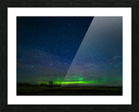 Northern Lights MN Picture Frame print