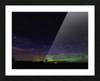 Northern Lights MN 2 Picture Frame print