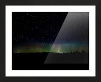 Aurora Glow Picture Frame print
