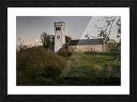 St Jamess Church in Manorbier Picture Frame print