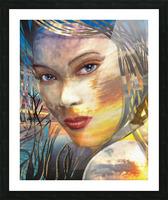 GOLDEN SUNRISE Picture Frame print