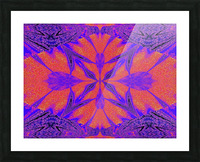 Purple Butterfly In Sunshine 1 Picture Frame print