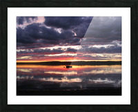Sunset GL Picture Frame print