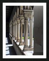 Pillars Picture Frame print