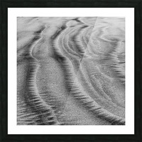 Sandy Waves Picture Frame print