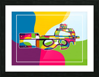 FN P90 Pop Art Picture Frame print