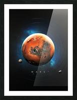 Destination Mars Picture Frame print