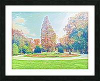 Garden Childhood Picture Frame print