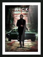 John Wick Picture Frame print