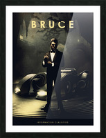 Bruce Wayne Picture Frame print