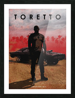 Dominic Toretto Picture Frame print