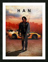 Han Lue Picture Frame print