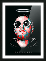 Mac Miller Picture Frame print