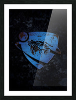 Rocket League Picture Frame print