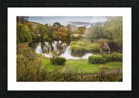Craig-y-Nos Country park Picture Frame print