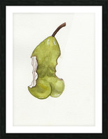 Up Pear-ass Picture Frame print