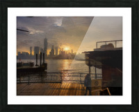 NYSunset Picture Frame print