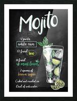 Mojito Picture Frame print