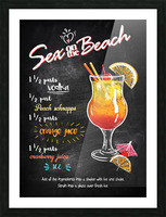 Sex on the Beach Picture Frame print
