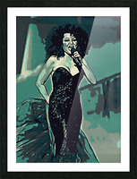 Diana_Ross_05 Picture Frame print