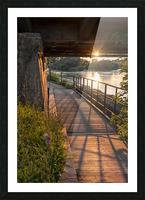 BridgeBoardwalk Picture Frame print