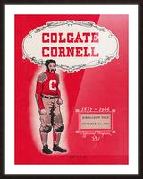 1946 Colgate vs. Cornell Picture Frame print