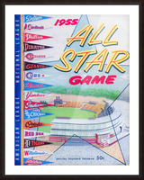 1955 Major League All-Star Game Picture Frame print