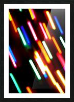 RAINBOW RAIN Picture Frame print