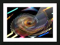 LUMI CIRCLE 001 Picture Frame print