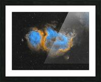 Soul Nebula Picture Frame print