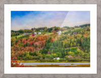 Arsenaults Hill Picture Frame print
