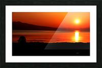 Honey Lake Sunrise Picture Frame print
