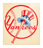 1950s New York Yankees Picture Frame print