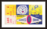 1957 UCLA vs. Washington Picture Frame print