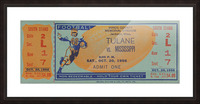 1956 Tulane vs. Ole Miss Picture Frame print