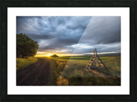 Markar Fiord Iceland Picture Frame print