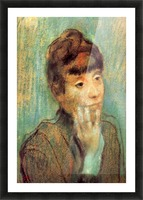 Portrait of a Lady by Degas Picture Frame print
