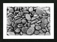 Beach Rocks Picture Frame print