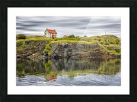 Trinity House Reflection Picture Frame print