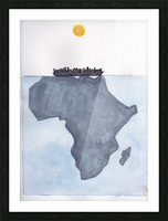 Voyage Picture Frame print