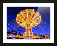 Carnival III Picture Frame print