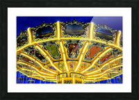 Carnival II Picture Frame print